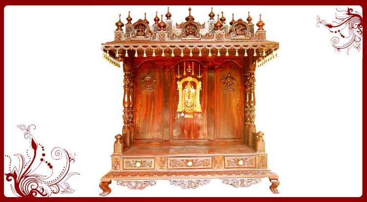 Buy Wooden Temple Online