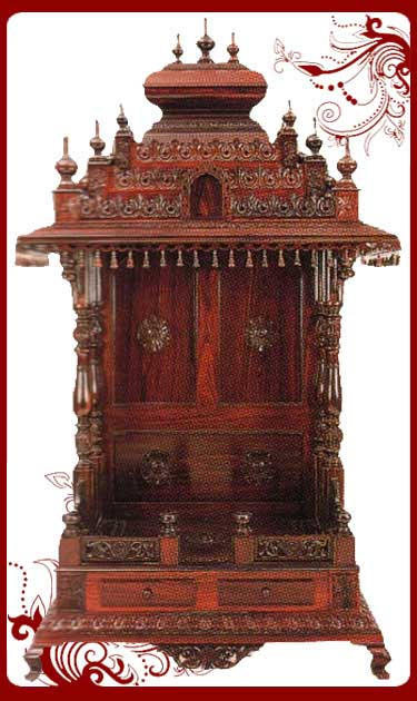 Home Mandir Wooden Mandir For Home In Usa Small Mandir