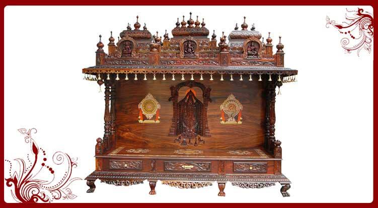 Pooja Ghar Mandir Designs Wooden Pooja Ghar For Sale Pooja Mandir