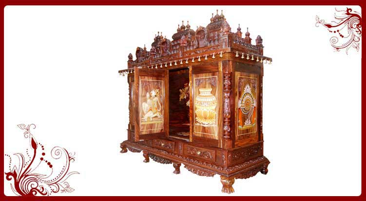 Wooden Pooja Mandir Usa Wooden Pooja Mandir For Home Sale In Usa