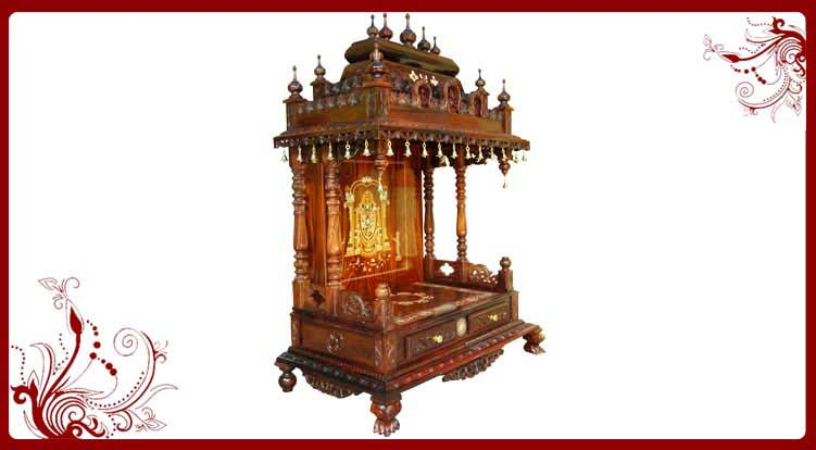 Pooja Stand Designs Chennai : Puja temple for home online designs sale