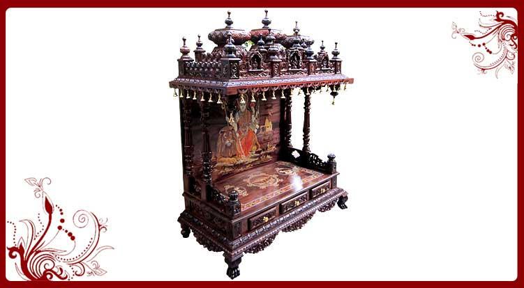 Wooden Temples Switzerland | Goddess Durga | Pooja Mandir