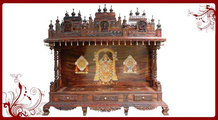 Traditional Home Temple Traditional Wood Mandir