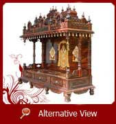 traditional wood temple