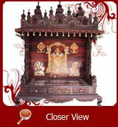 wood mandir designs india
