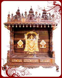 wood mandir usa