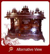 wood temple designs