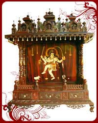 Home Temple Wooden Puja Designs Teak Wood Models Pooja