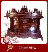 wood temple models