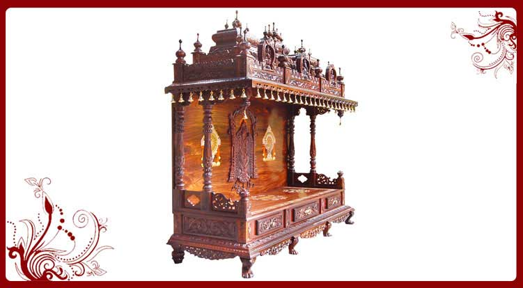 wooden hindu temple usa