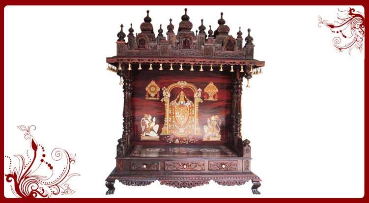 Wooden Mandir Designs Usa