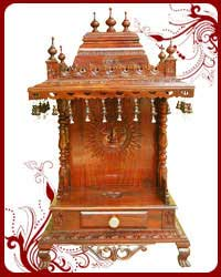 wooden mandir sale