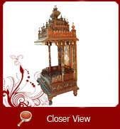 wooden temples in hyderabad